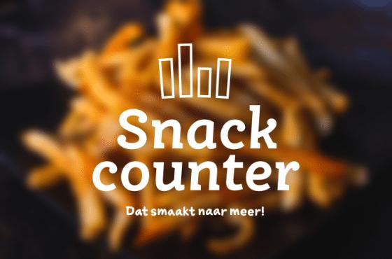 Kaart snackcounter