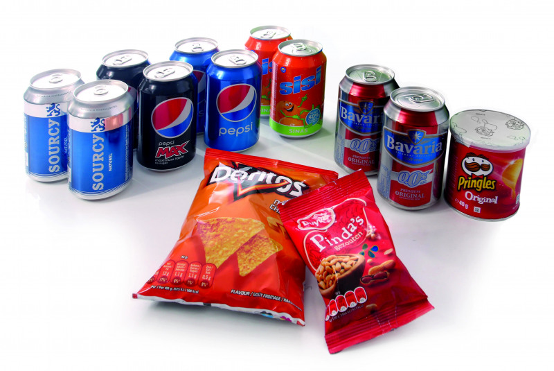 Minibar_Pakket_3_Dorito's_Pinda's_Sourcy_blauw_Pepsi_Max_Pepsi_Cola_Sisi_Bavaria_alcoholvrij_Pringels_Preston_Palace